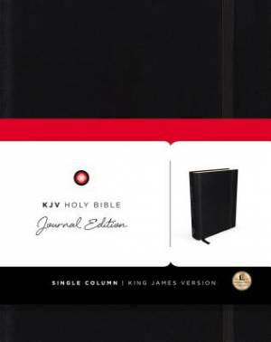 KJV, Holy Bible, Journal Edition, Hardcover, Red Letter Edition
