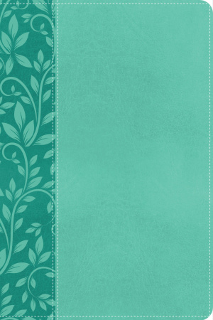 NKJV, Gift Bible, Imitation Leather, Turquoise, Red Letter Edition