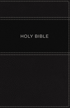 KJV, Apply the Word Study Bible, Large Print, Imitation Leather, Black, Red Letter Edition