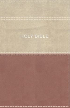 KJV, Apply the Word Study Bible, Large Print, Imitation Leather, Pink/Cream, Indexed, Red Letter Edition