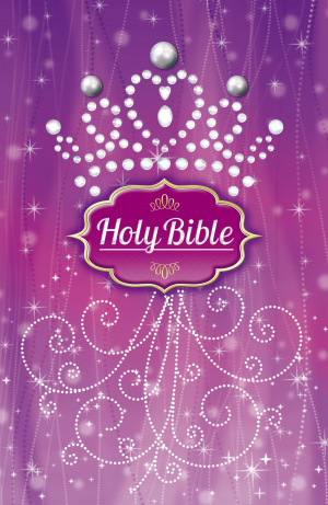 ICB Purple Pearl Princess Bible