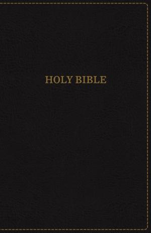 KJV, Thinline Bible, Standard Print, Imitation Leather, Black, Red Letter Edition