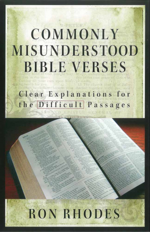 Commonly Misunderstood Bible Verses Pb