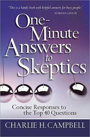 One Minute Answers To Skeptics Pb