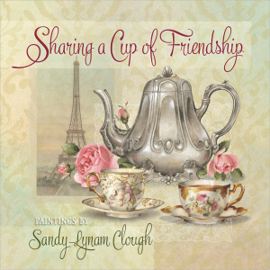 Sharing A Cup Of Friendship Hb
