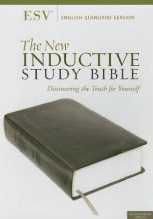 Esv New Inductive Study Bible Lth Lk Blk