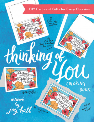 Thinking Of You Coloring Book