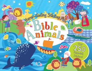 Never-Ending Sticker Fun: Bible Animals