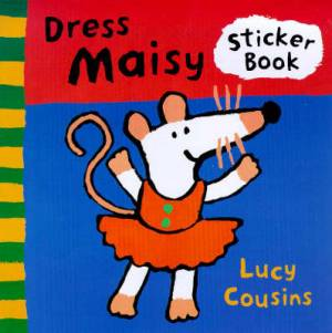 Dress Maisy Sticker Book
