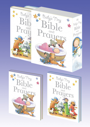 Baby's Tiny Bible and Prayers