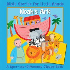 Noah's Ark A Spot-the-Difference Jigsaw Book