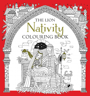 The Lion Nativity Colouring Book