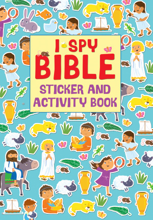 I Spy Bible Sticker Book