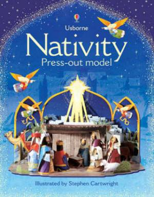Nativity Usborne Press Out Model Book Pb