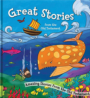Square Cased Bible Story Book - Great Stories from the Old Testament