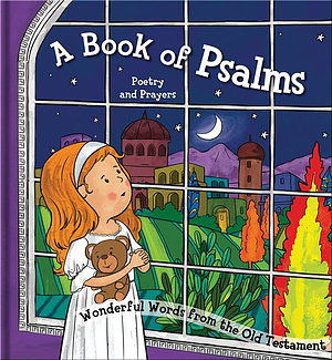 A Square Cased Bible Story Book - A Book of Psalms