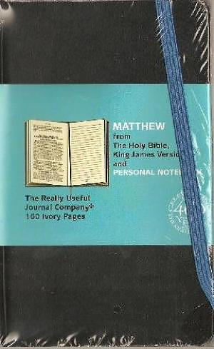 KJV Gospel Matthew Journal