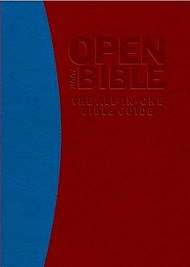 Open Your Bible:: The All-In-One Bible Guide Red/Blue IL
