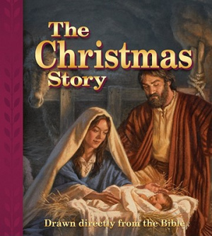 Christimas Story : Drawn Directly From The Bible