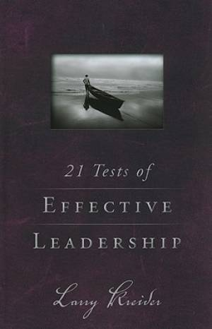 21 Tests Of Effective Leadership Pb