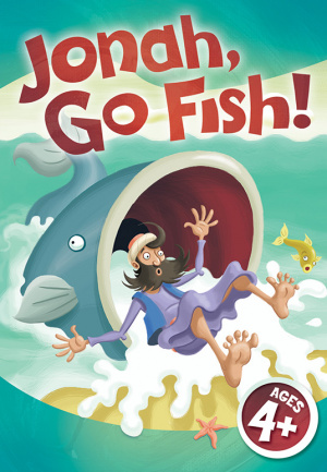 Jonah Go Fish Jumbo CG - Rpk (Jumbo Card Game)