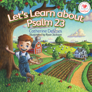 Let's Learn about Psalm 23