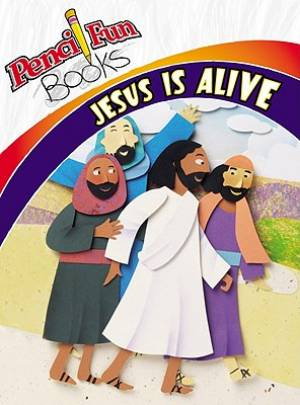 Pencil Fun Book Jesus Is Alive