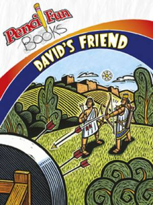 Davids Friend Pencil Fun Book (Pack of 10)