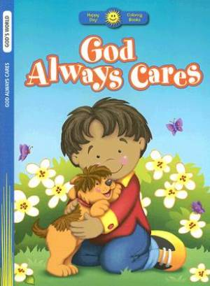 God Always Cares Colouring Book