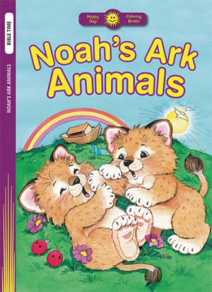 Noahs Ark Animals Colouring Book
