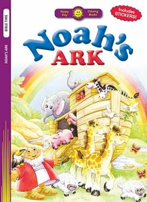 Hdcb Stk Noahs Ark Colouring Book