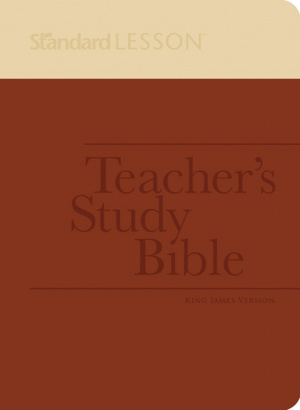 Standard Lesson Teacher's Study Bible--King James Version (Duotone Edition)