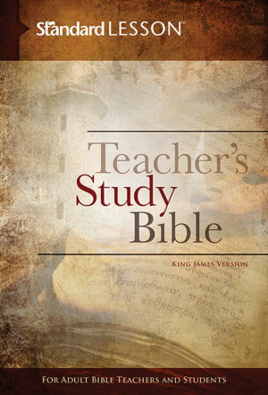 Standard Lesson Teacher's Study Bible--King James Version (Hardcover Edition)