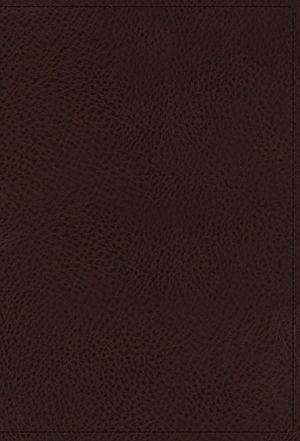 NKJV, Minister's Bible, Leathersoft, Brown, Comfort Print