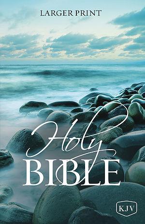 KJV Holy Bible, Larger Print