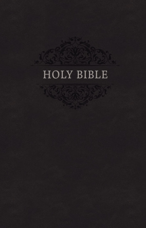 NKJV, Holy Bible, Soft Touch Edition, Leathersoft, Black, Comfort Print