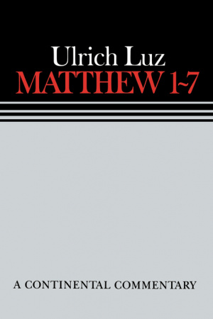 Matthew 1-7 : Commentary