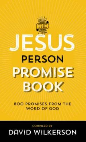 The Jesus Person Promise Book, Repackaged Ed.