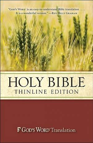 God's Word Thinline Bible: Paperback