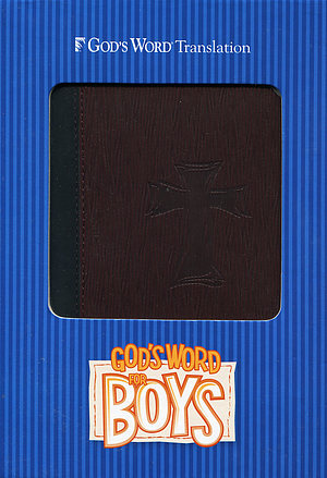 God's Word for Boys: Brown, Imitation Leather
