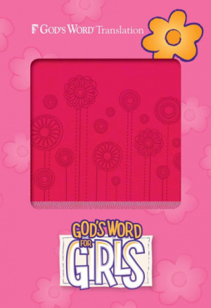 God's Word for Girls Pink/Pearl, Flowerpop Design Duravalla