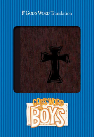God's Word for Boys Autumn Bark, Cross Design Duravella