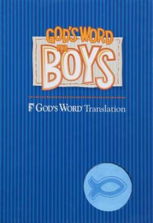 God's Word for Boys Blue/Light Blue Duravella