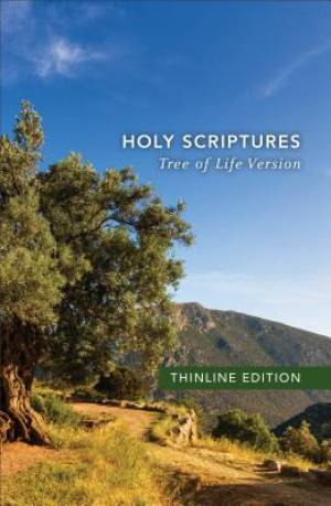 Tlv Thinline Bible, Holy Scriptures, Paperback