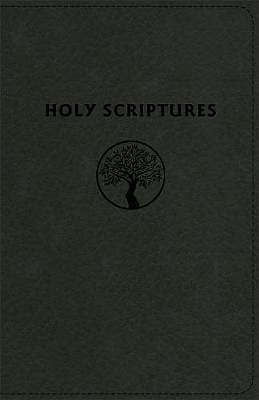 Tlv Personal Size Giant Print Reference Bible, Holy Scriptures, Black Duravella