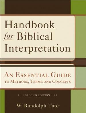 Handbook for Biblical Interpretation
