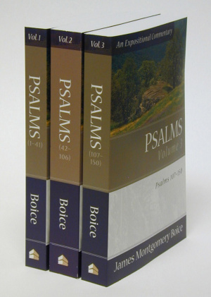 Psalms : 3 Vols : Boice Commentary