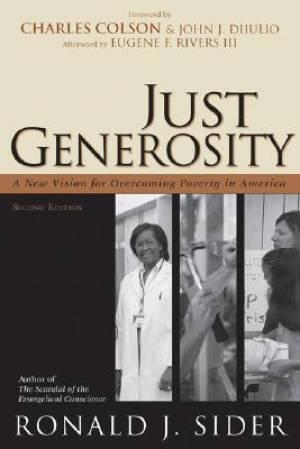 Just Generosity Pb