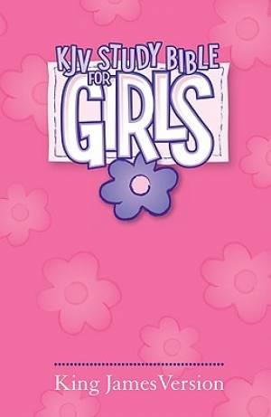 KJV Study Bible For Girls: Pink, Hardback