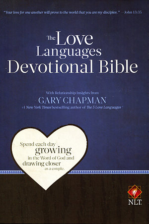 NLT Love Languages Devotional Bible Hardback